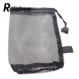 Wholesale Net 25 - 1 pcs Golf Sports Mesh Net Bag Golf Tennis 12 25 50 Balls Holder Drawstring Storage Pouch Accessories