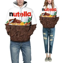 6a66a46cb7d2 mrwonder 2018 Autumn Winter Men Sweatshirt 3d Street Style Pullover Jumpers  3D Nutella Chocolate Printed Hoodie Lovers