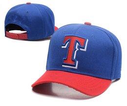 Wholesale Rangers Sports - 2018 Texas Rangers Team Snapbacks Blue Baseball Hats Fashion Sports Caps Adjustable Snapback women men Snapbacks Caps Summer Hip Hop Hats