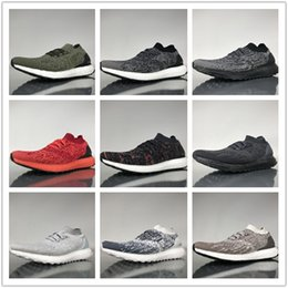 Wholesale dark seas - Wholesale Top Quality Ultra Boost Uncaged Oreo Deep sea Real Men's Couples Running Shoes Trainers Sport Footwear Women's Athletic Sneakers