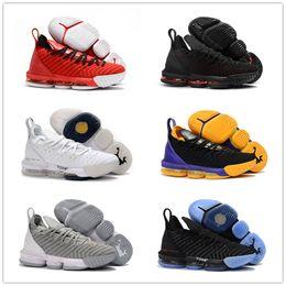 detailed look e4f5c 65a21 chaussures de basket pour jeunes violet Promotion 2018 New Kid Femmes  Hommes 16 XVI Noir Blanc