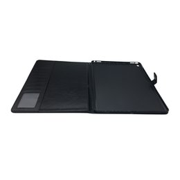 Canada Étui de portefeuille en cuir PU pour Ipad Pro12.9 avec fentes pour cartes Sac dur PC déplier Smart Cover Offre