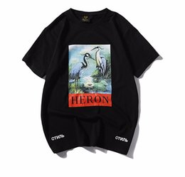 ship clothes Coupons - Men Women Clothing Casual Tshirts Summer Heron Preston Printed Solid Color Crew Neck Tees Male Female Short Sleeved Tops Free Shipping