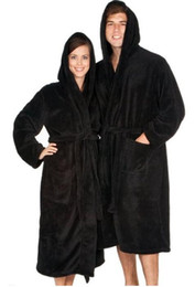 ba780da328 Bathrobe Hooded Adluts robes design robes Fleece Size S M