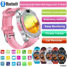 Argentina 2018 nuevo reloj inteligente compatible con la tarjeta SIM TF con Bluetooth 3.0 reloj inteligente para hombres y mujeres para Android IOS Suministro