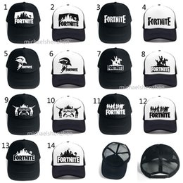 8c273df9 hip hop for kids Coupons - 14 Style Fortnite Cap man baseball cap boys  girls snapback