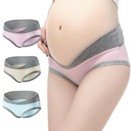 Sous-vêtements de maternité en forme de U Culotte de maternité Culottes de grossesse en coton Culottes de femmes Vêtements Femmes enceintes Sous-vêtements ? partir de fabricateur