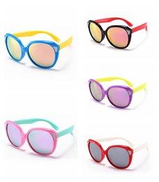 4d50e198d867c gafas de sol redondas de color Niño gafas de sol polarizadas de Niños Niños  Menina TAC TR90 Polaroid Gafas de sol Gafas de deporte al aire libre Oculos  ...