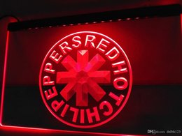 Wholesale Red Hot Chili Peppers - LF085r- Red Hot Chili Peppers Rock Band NEW Light Sign
