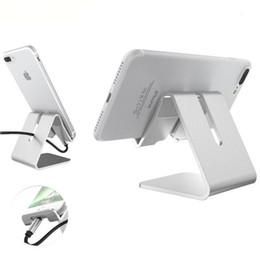 2019 telefones celulares importados Suporte ajustável do ângulo do metal quente do suporte do alumínio do telefone móvel de IPad da venda