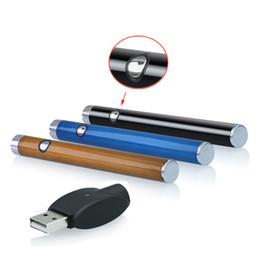 Bateria mini vap pen on-line-Logotipo personalizado 510 bateria Hash cartucho de óleo da bateria cera vaporizador de óleo caneta mini slim o caneta bateria 280 mah com carregador Vape pen vapor