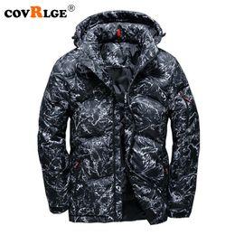 ee739b43b604 Covrlge 2018 Herren Winter Daunenjacke Plus Size Outdoor Jacke mit Kapuze  Male Fashion Warm Daunenjacken Camo Men Coat MWY006 günstig camo  winterjacken ...