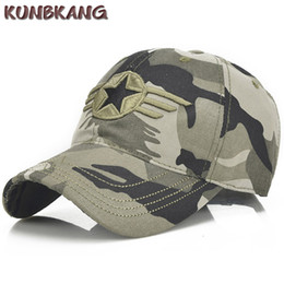 New Camo Army Baseball Cap Men Cotton Star Tactical Sun Dad Hat Casquette Male  Outdoor Camouflage Snapback Trucker Cap Gorras ebbb90a8e12b