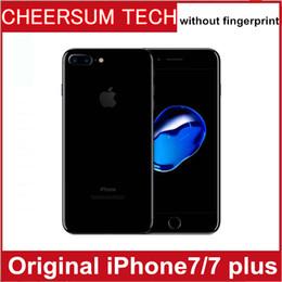 Wholesale iphone quad - DHL Refurished iphone7 100% Original Apple iPhone 7  7 plus ios10 Quad Core 2GB RAM 32GB 128GB 256GB ROM 12.0MP 4K Video 4G Mobile phone