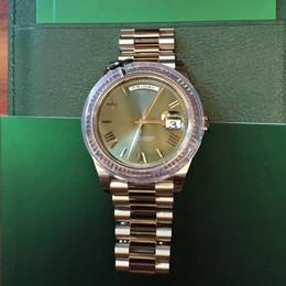 Nueva Roma reloj para hombre movimiento automático zafiro verde de vidrio cara Stainess correa original venta caliente Sweep Mechanics reloj para hombre reloj de pulsera desde fabricantes