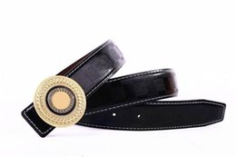 Wholesale Western Fashion For Women - 2018 Brand Belt for Men and Women Fashion Luxury Belts Designer Cowhide Luxury Oxblood Men Western Belt Jewelry Waistband Free Shipping