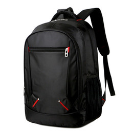 box table cloth UK - New two shoulder bags, men and women fashion computer package Oxford cloth Travel Backpack