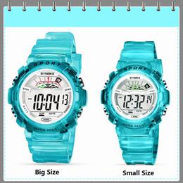 Répétition de montres-bracelets en Ligne-SYNOKE Montre de Plein Air Enfants Garçon Fille Numérique 30 M Étanche Alarme Calendrier relogio LED Répéteur Horloge Sport Enfants Montre-Bracelet