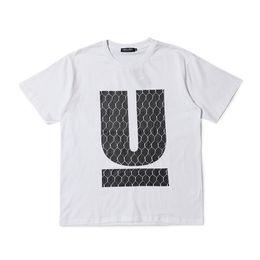 Usted s online-2018ss UNDERCOVER Big U Print Mujer Hombre Camisetas camisetas Hiphop Streetwear Hombre Algodón Camiseta Outwear