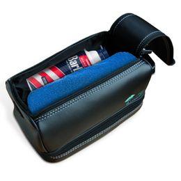 kits de embrague al por mayor Rebajas 2017 Top Grade Black Plaid TOILETRY POUCH Diseñador de moda Clutch Bag