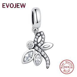 953054db5 animal 925 pandora charms Coupons - EVOJEW Wholesale Fashion 925 Sterling  Silver Vivid Dragonfly Charm Beads