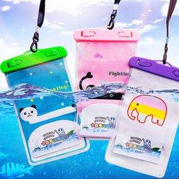 handy-tasche tasche Rabatt Schwimmen Sie wasserdichte Telefon-Beutel-Beutel-Handy-Tasche, die mit Bügel-Kasten Häfen essential Handy für Sport im Freien trocken sind