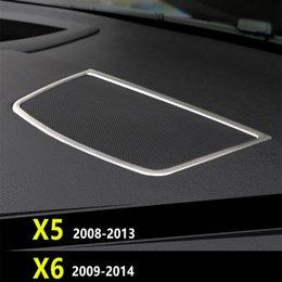 Steel Chrome Rear Bumper Bottom Strip Cover Trim Sill for BMW X6 E71 2009-2014