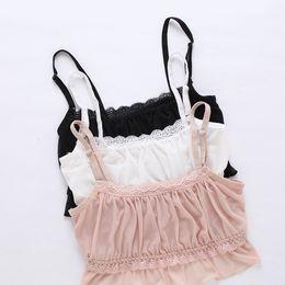 Wholesale Chest Vest Bra - YLOVECHENGSexy Lace Bra Vest Wrapped Chest Strap Mesh Lace Bralette Lingerie Crop Tops Bras for women underwear