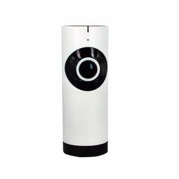 Micro caméra de contrôle sans fil en Ligne-185 degrés poissons yeux lentille APP télécommande sans fil vision intégrale wifi caméra IP support de détection de mouvement micro carte SD enregistrement netwo