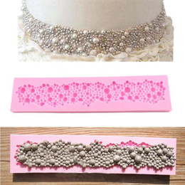 Canada 1 pc Perles Perles Moule En Silicone Gâteau Décor Fondant Cuisson Sugarcraft Moule cheap cake beads Offre