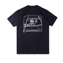 Wholesale hip hop cars - 18SS Europe London Hip Hop AUTOBAHN Car Sketch Tee Skateboard Cool T-shirt Men designer t shirts Women Cotton Casual T Shirt