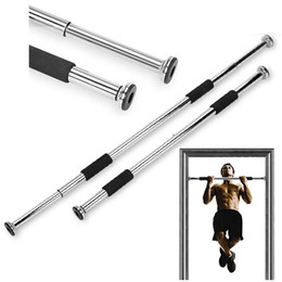 Wholesale Banding Equipment - LGFM-Pull Up Bar High Quality Sport Equipment Home Door Exercise Fitness Equipment Workout Training Gym Size Adjustable Chin U