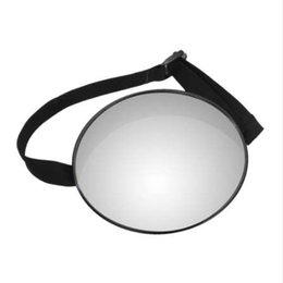 2019 vw cc fibre de carbone Bébé Voiture Miroir Vue De Sécurité De Voiture Arrière Siège Miroir Bébé Face Arrière Garde Infantile Carré Sécurité Enfants Moniteur De Voiture Accessoires