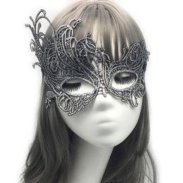 Wholesale mardi gras masks for sale - 10pcs mardi gras masks for sale women Seductive Prom Halloween Venetian Masquerade Mardi Gras Fancy Sexy Elegant Beautiful Posh Lace masks