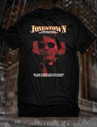 Canada Nouveau T-Shirt Black Jonestown Jim Jones Peoples Temple Tee Evil Leader Leader Guyana cheap evil people Offre