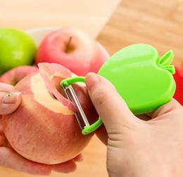 facas dobráveis mais quentes Desconto O novo hot maçã descascador de maçã peeling faca dobrável aplainamento aplainamento frutas e frutas spokeshaves T4H0255