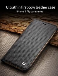Ultra İnce Kılıf iphone 7 için Lüks Deri Kapak Çevirin iphone 7 artı Kart Sahibinin 4.7 / 5.5 kertenkele desen / ızgara desen nereden kertenkele deri tedarikçiler