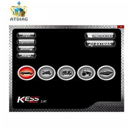 ferramenta de ajuste de kess Desconto SW V2.47 EU Online Para Kess V2 V5.017 5.017 Ksuite 2.47 Unlimited Adicionar Mais Protocolo OBD2 Gerente Tuning Kit ECU Chip Tuning ferramenta