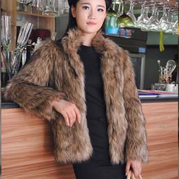 520f18aa973c Hot selling winter fashion women faux fox fur coats