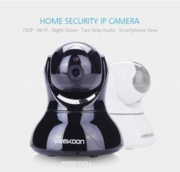 Wholesale ip camera package - Home Security HD 720PWireless IP Camera Surveillance Camera Wifi Night Vision CCTV Camera Baby Monitor Retail package free shipping
