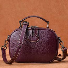 Designer Handbags Crossbody Bag Cowhide 2018 Brand Fashion Luxury Designer  Bags Vintage Genuine Leather Ladies Cross Body Bags For Women 6adb1ebdcda92