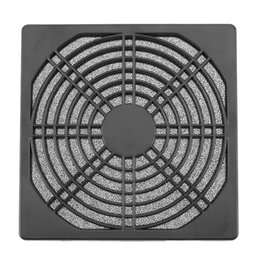 Wholesale Case Fan Cover - 1pcs Dustproof 120mm Case Fan Dust Filter Guard Grill Protector Cover for PC Compute Cleaning Fan Cover Case