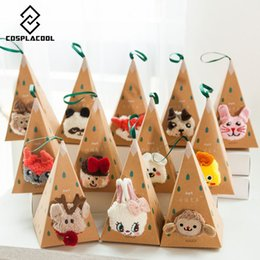 Wholesale Ladies Cashmere Socks - [EIOISAPRA]Cute Cartoon Animal Funny Socks Women Thicken Coral Cashmere Christmas Gift Sokken Girl 3D Bear Ladies Warm Socks