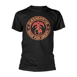 Ordenação camisetas on-line-RAI QUEENSRYCHE Para Ordem MENS Preto GRANDE T-Shirt NOVO
