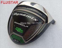 golfarbeiten Rabatt FUJISTAR GOLF Works Dynamix Titanium Golf Driver Kopf haben nur 9,5 Grad Loft Lager