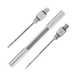 pez aguja Rebajas LEO 27983 3 unids / set aparejos de pesca herramienta de pesca de cebo de aleación de aluminio herramienta 5PCS IN 1 LOT