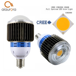 Wholesale Cree Growing Light - CREE CXB3590 CXB3070 CXA3070 100W 12000LM 3500K COB LED Grow Light Full Spectrum Growing Lamp Indoor Plant Growth Panel Lighting