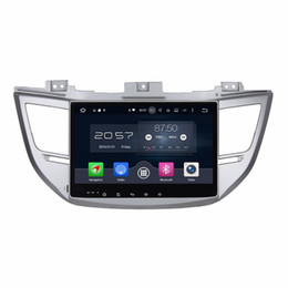 "hyundai do bluetooth tv Desconto 4 GB RAM Octa Núcleo 10.1 ""Android 6.0 Áudio Do Carro DVD Player Do Carro para Hyundai IX35 Tucson 2015 2016 Com Rádio GPS WIFI Bluetooth TV USB"