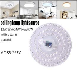 El módulo de luz LED de 12W 18W 24W 36W 40W 40W 36W 40W llevó el módulo de luz, blanco, color blanco cálido opcional desde fabricantes