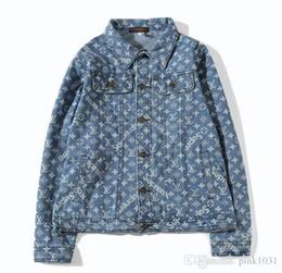 Wholesale denim shirt women - vetements kanyw west High quality pure cotton Denim jacket men women hoodie Hip Hop pablo hoodie t-shirt y-3 jacket